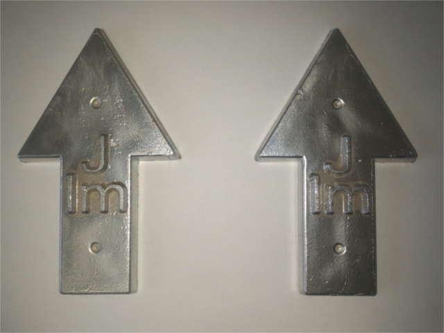 Flush Marker Plate Pointers